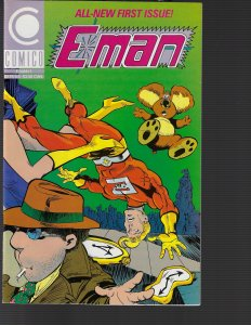 E-Man #1 (Comico, 1989) NM