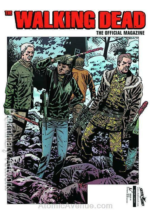 Walking Dead Magazine #9A VF; Titan | save on shipping - details inside