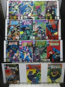 Detective Comics (DC 1992-93) #644-658 Chuck Dixon + Tom Lyle Cluemasters!
