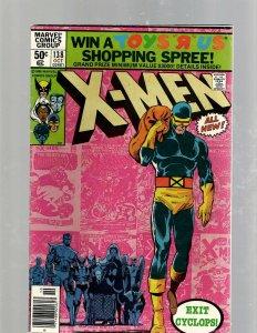 (Uncanny) X-Men # 138 FN Marvel Comic Book Beast Angel Cyclops Magneto SM19