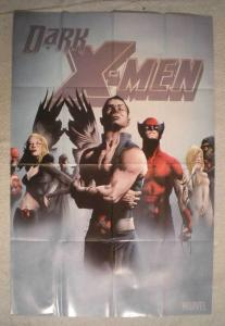 DARK X-MEN Promo Poster,Wolverine, 24x36, 2009, Unused, more in our