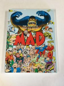 Mad The Complete First Six Issues 1-6 Oversize Nm Near Mint Tpb