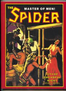The Spider #38 2000- City of Dreadful Night pulp reprint
