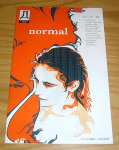 Normal #1 VF- gordon purcell - mark heike - gender neutral writer's exercise