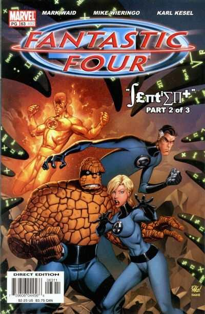 Fantastic Four (1998 series) #63, NM + (Stock photo)