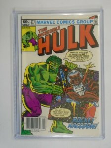 Incredible Hulk #271 2nd Appearance Rocket Raccoon 6.5 FN+ (1982 1st Series)