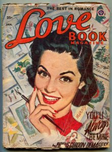 Love Book Magazine Pulp January 1954- You'll Always Be Mine VG