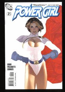 Power Girl #2 NM- 9.2 Adam Hughes Cover!
