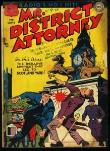 MR. DISTRICT ATTORNEY #6-SCOTLAND YARD STORY-DC FR/G