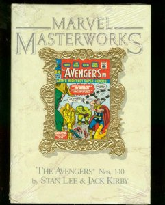 MARVEL MASTERWORKS: AVENGERS VOL. 4 FACTORY SEALED NM