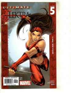Lot of 9 Ultimate Marvel Comics Elektra 5 4 3 2 1 Daredevil Elektra 4 3 2 1 SM11