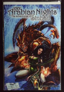 1001 Arabian Nights: The Adventures of Sinbad #4 Cover B (2008)