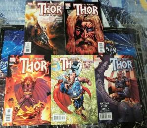 THOR 75-79 (577-581) Gods and Men 1-5 Jurgens!