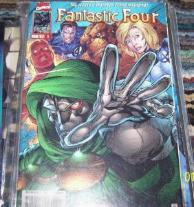 FANTASTIC FOUR  #5 vol 2     1996 marvel  JIM LEE