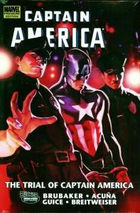 The Trial of Captain America Premiere Edition Hardcover (Marvel) - New/Sealed!