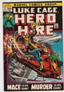 Luke Cage Hero for Hire #3 (Oct-72) NM- High-Grade Luke Cage