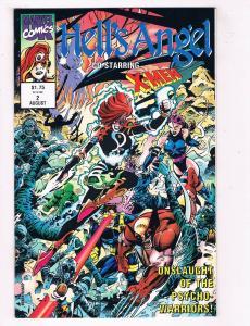 Hells Angel #2 FN/VF Marvel Comics Comic Book X-Men Aug DE39 AD12