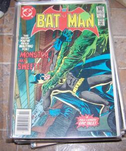 Batman #344 1982 DC comics MONSTER MY SWEET +KUBERT COVER BRONZE AGE
