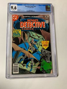 Detective Comics 477 Cgc 9.6 White Pages Dc Comics Batman 2060692008