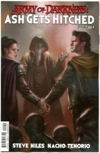 ARMY OF DARKNESS Ash Gets Hitched #2, NM-, Bruce Campbell, 2014, more in store