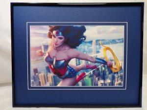 Wonder Woman #64 Framed 16x20 Poster Display DC Comics Artgerm