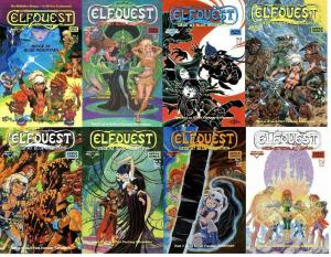 ELFQUEST SIEGE AT BLUE MT 1-8  R & W PINI, Stanton
