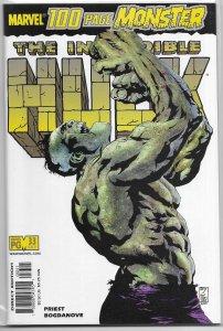Incredible Hulk (vol. 2, 1999) # 33 VF (100 Page Monster, rep. 204,205,335)