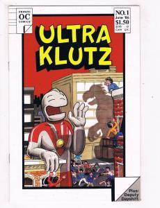 Ultra Klutz #1 FN Onward Comics Comic Book June 1986 DE40 AD14