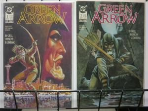 GREEN ARROW  1-2  HUNTER'S MOON complete story