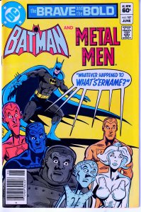 Brave and the Bold # 187 Mysterious Foe from Metal Men's Past ! Nemesis !