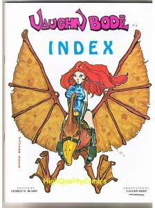 VAUGHN BODE INDEX, George W Beahm, VF/NM, 1st, 1976, Limited, only 2500 printed