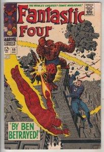 Fantastic Four #69 (Dec-67) FN/VF Mid-High-Grade Fantastic Four, Mr. Fantasti...