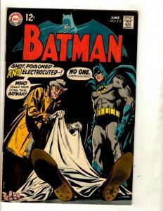 Batman # 212 VF DC Comic Book Gotham Joker Robin Catwoman Penguin Ivy GK1