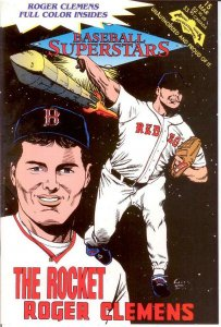 BASEBALL SUPERSTARS COMICS 15 Roger Clemens