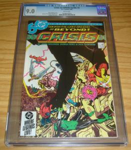 Crisis on Infinite Earths #2 CGC 9.0 marv wolfman - george perez - dc comics