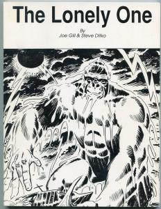 The Lonely One by Joe Gill and Steve Ditko-KONGA-1ST PRINT FN