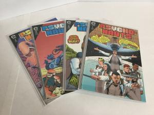 Psycho-nauts 1-4 Lot Set Run Nm Near Mint Epic Comics A42