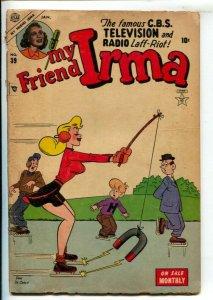 My Friend Irma #39 1953-Atlas-Headlight cover by Dan De Carlo-Stan Lee storie...