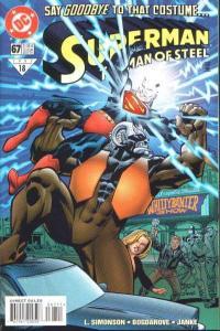 Superman: The Man of Steel #67, NM (Stock photo)
