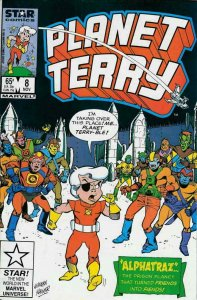 Planet Terry #8 VF; Marvel Star | save on shipping - details inside