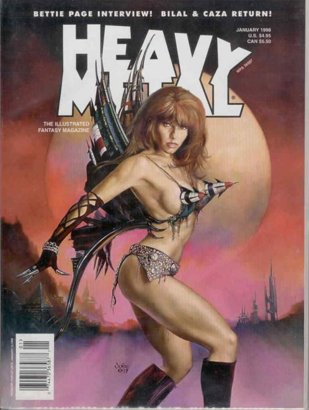 Heavy Metal #174 VF/NM; Metal Mammoth | save on shipping - details inside
