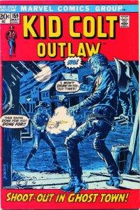 Kid Colt Outlaw #159 VG; Marvel   low grade comic - save on shipping - details i