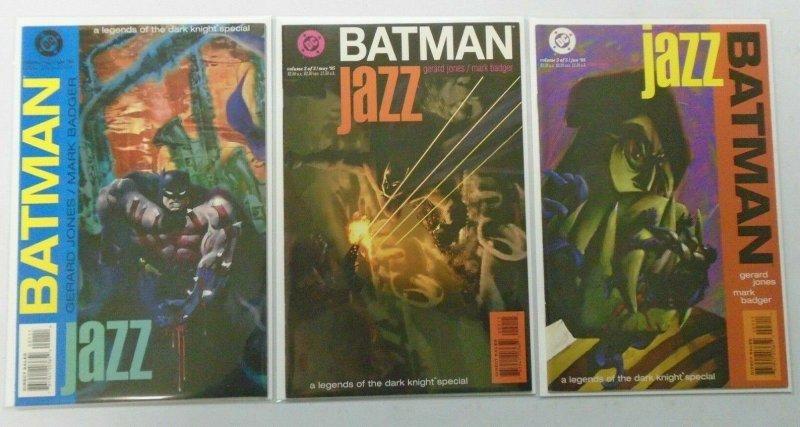 Batman Jazz set:#1-3 8.0 VF (1995)
