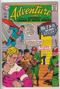 Adventure Comics #359 (Aug-67) NM- High-Grade Legion of Super-Heroes, Superboy