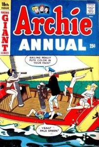 Archie Comics Annual #18, VG- (Stock photo)