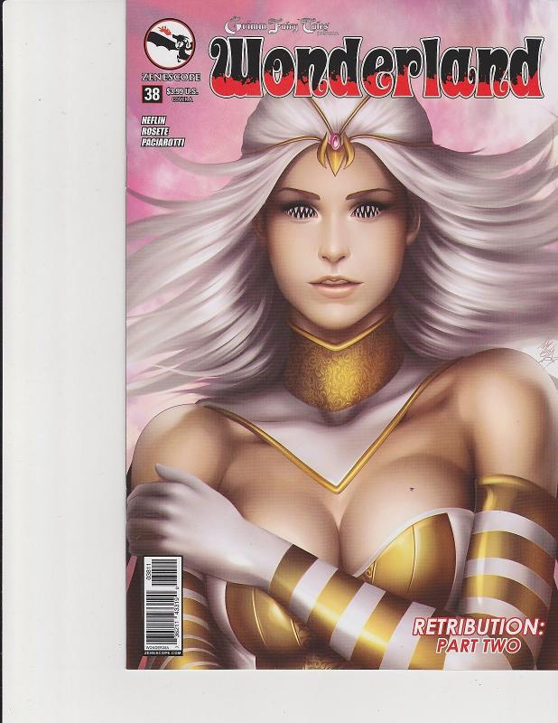Wonderland #38 Cover A Zenescope Comic GFT NM Meguro