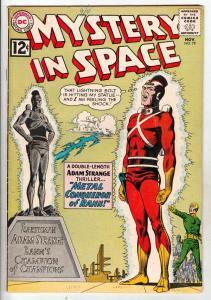 Mystery in Space #79 (Nov-62) VF+ High-Grade Adam Strange