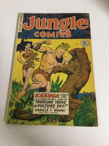 Jungle Comics 115 Fn Fine 6.0