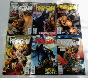Savage Hawkman Comic Book Lot of (6) DC Comics CL70/05
