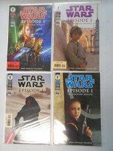 Star Wars Episode 1 The Phantom Menace set #1-4 NM (1999)